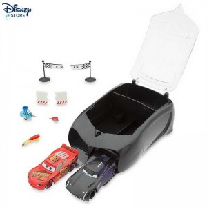 Set acrobazie con valigetta Disney Pixar Cars 3, Jackson Storm Vendere a Prezzi Scontati 48% # (Negozio Disney)