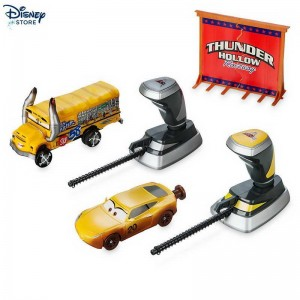 Crash set da 2 pezzi Thunder Hollow Crazy 8's Demolition Disney Pixar Cars 3 Problema Con Uno Sconto {Offerte Disney store}