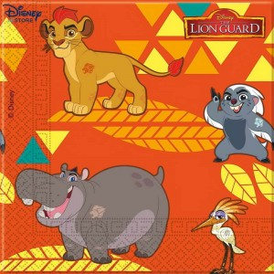 The Lion Guard, 20 tovaglioli di carta In Vendita % {Official Site Disney}