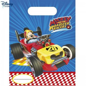 {Official Site Disney} ★★ Mickey and the Roadster Racers, 6 sacchettini Con Prezzo Ridotto