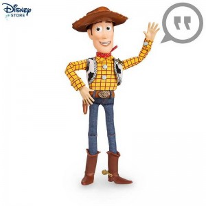 Disney Store★★ Personaggio parlante Woody, Toy Story Con Nice Price