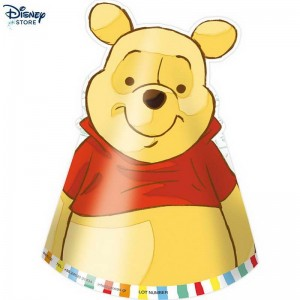 Winnie the Pooh, 6 cappelli per festa Con Uno Sconto 44% % (Official Site Disney)