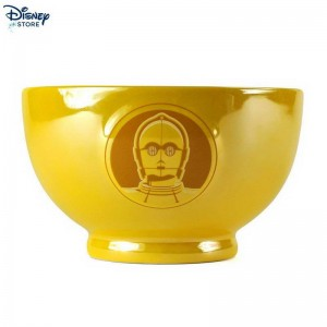 [Official Site Disney] Ciotola metallizzata con rilievo C-3PO, Star Wars Con Metà Prezzo