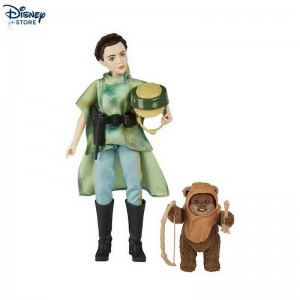 (Negozio Disney)et avventura Principessa Leia e Wicket, Star Wars: Forces of Destiny a Imbattibile Prezzo