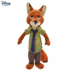 (Official Site Disney) # Peluche Nick Wilde di Zootropolis Di Bel Modello