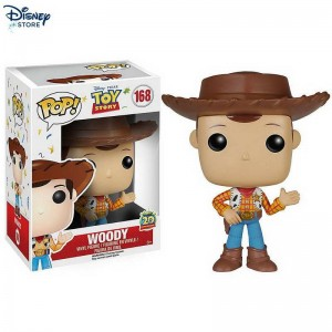 Personaggio in vinile Pop! di Funko Woody, Toy Story Con Nice Price Negozio Disney