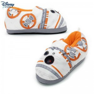 BB-8 Light-Up Slippers For Kids Problema Con Uno Sconto ★★ [Disney Store]