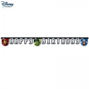 (Disney sconto online) // Avengers, festone Happy birthday Con Nizza Modello