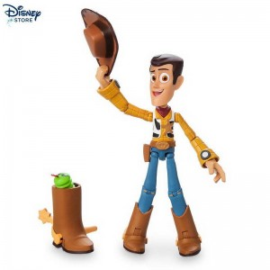 [Negozio Disney] ★★ Action Figure Woody, Pixar Toolbox Elenco Sconti