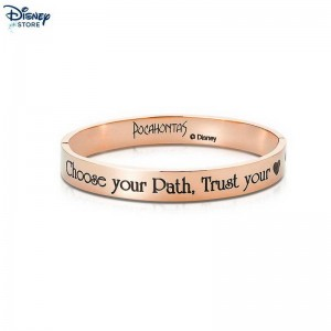 Bracciale placcato oro rosa Couture Kingdom, Pocahontas Le Vendite Up 54%  {Disney Store}