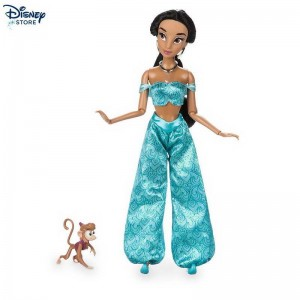 (Disney sconto online) ★★ Bambola classica Jasmine, Aladdin Con Nizza Modello