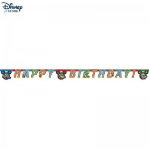 [Negozio Disney] # Festone Happy Birthday Mickey and the Roadster Racers a Prezzi Scontati