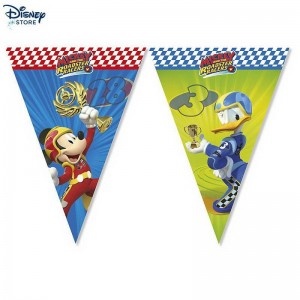 Festone con bandierine Mickey and the Roadster Racers 53% Fuori Vendita  (Vendita Online Disney)