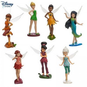 {Disney Italia} ★★★ Set personaggi Disney Fairies Con Uno Sconto