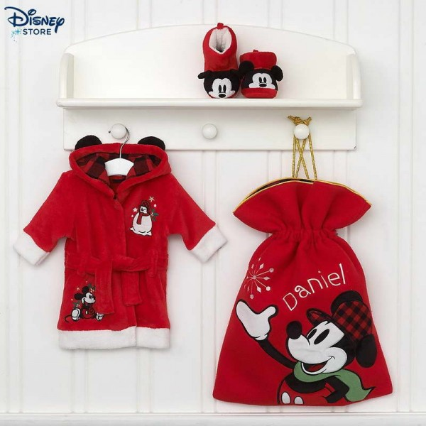Babbo Natale Disney.Offerte Disney Store Set Bimbi Babbo Natale Share The Magic Con L